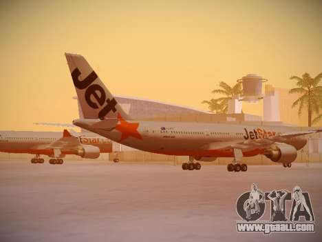 Airbus A330-200 Jetstar Airways for GTA San Andreas right view