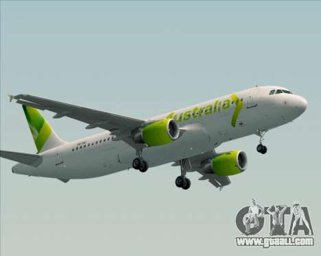 Airbus A320-200 Air Australia for GTA San Andreas left view