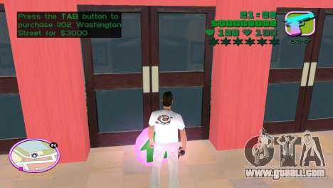 Green Font Color With Logo for GTA Vice City forth screenshot