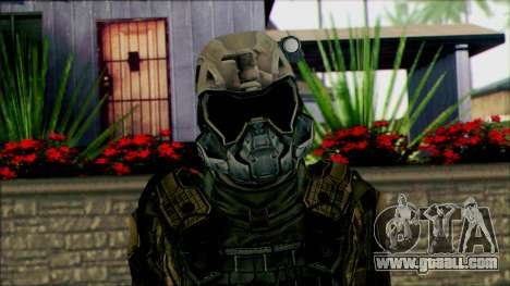 Soldiers of team Phantom 2 for GTA San Andreas third screenshot