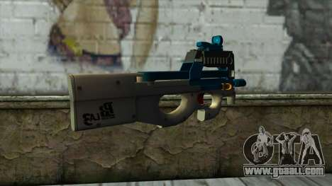 P90 from PointBlank v6 for GTA San Andreas second screenshot