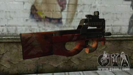P90 from PointBlank v4 for GTA San Andreas second screenshot