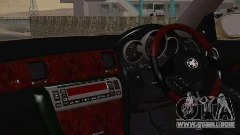 Toyota Soarer 430SC 2002 for GTA San Andreas back left view