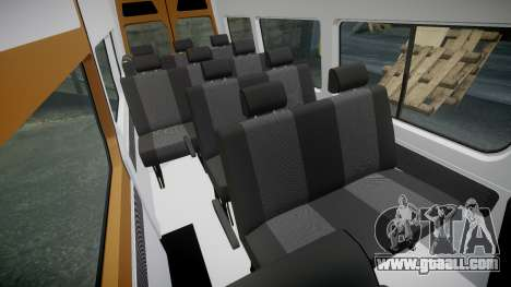 Mercedes-Benz Sprinter 313 cdi for GTA 4 inner view