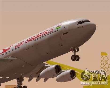 Airbus A340-312 Air Mauritius for GTA San Andreas