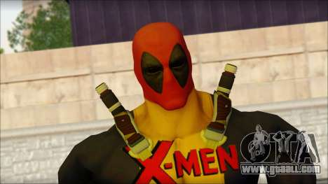 Xmen Deadpool The Game Cable for GTA San Andreas third screenshot