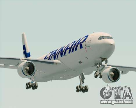 Airbus A330-300 Finnair (Current Livery) for GTA San Andreas