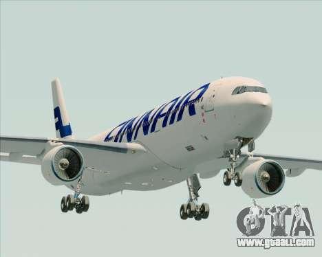 Airbus A330-300 Finnair (Current Livery) for GTA San Andreas