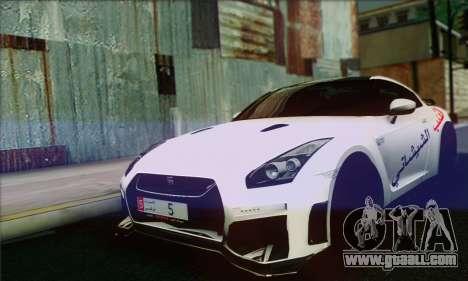 Nissan GT-R Muhammad Ali for GTA San Andreas