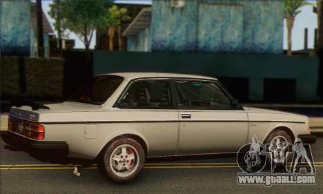 Volvo 242 Turbo 1983 for GTA San Andreas left view