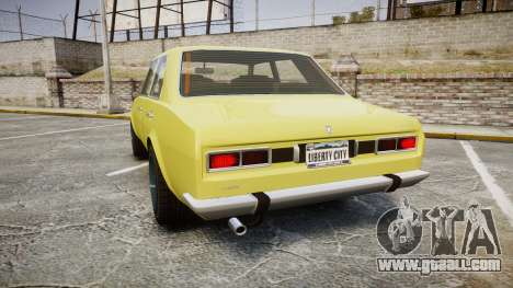 Vulcar Warrener for GTA 4 back left view