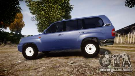 Toyota Land Cruiser for GTA 4 left view