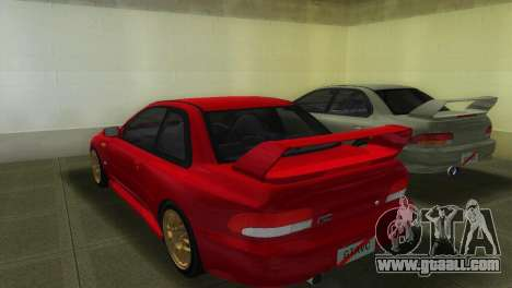 Subaru Impreza WRX STI GC8 22B for GTA Vice City left view