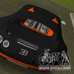 bugatti veyron super sport for gta vice city. Black Bedroom Furniture Sets. Home Design Ideas