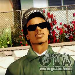 Eazy-E Green v2 for GTA San Andreas