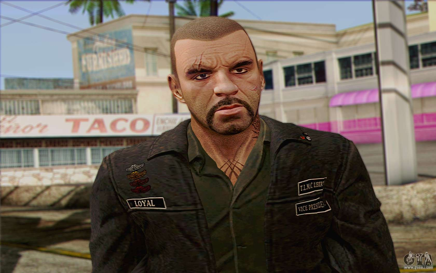 Johnny Klebitz From GTA V (With normal head) for GTA San Andreas