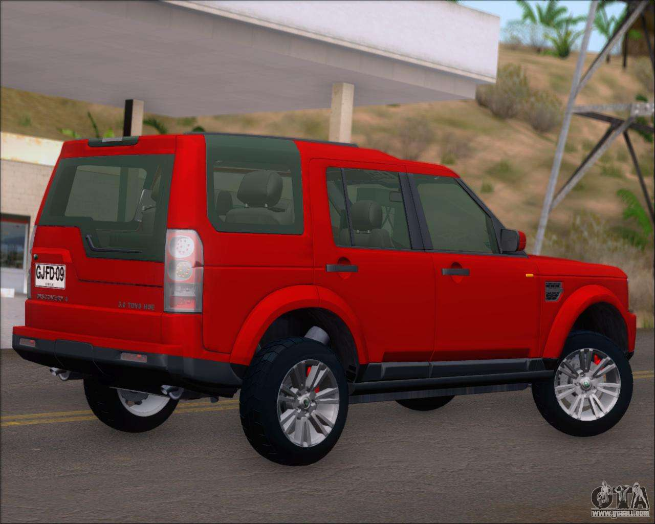 land rover discovery 4 for gta san andreas. Black Bedroom Furniture Sets. Home Design Ideas