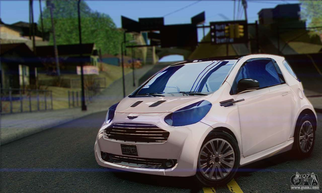 aston martin cygnet for gta san andreas. Black Bedroom Furniture Sets. Home Design Ideas