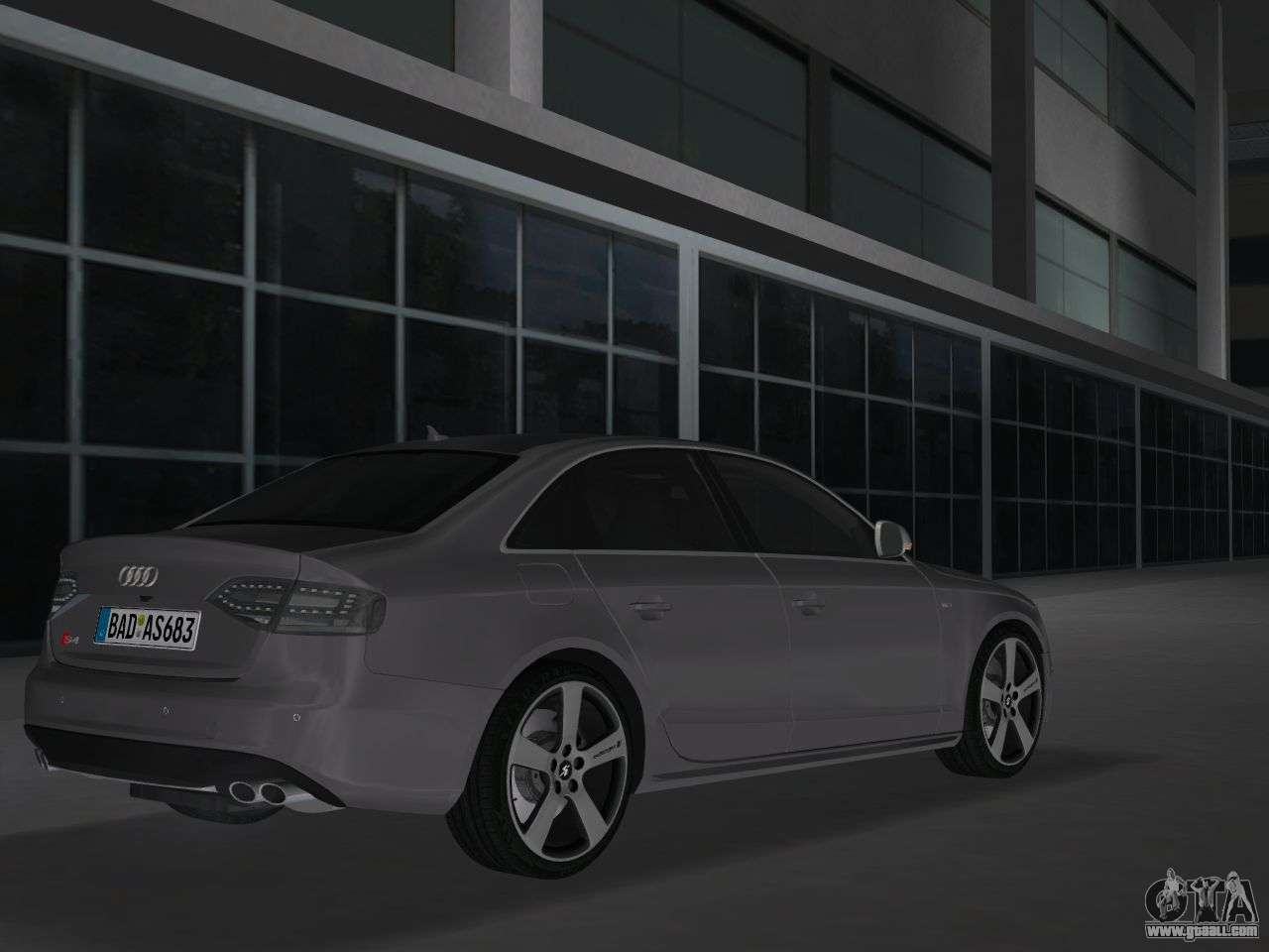 audi s4 b8 2010 metallischen for gta vice city. Black Bedroom Furniture Sets. Home Design Ideas
