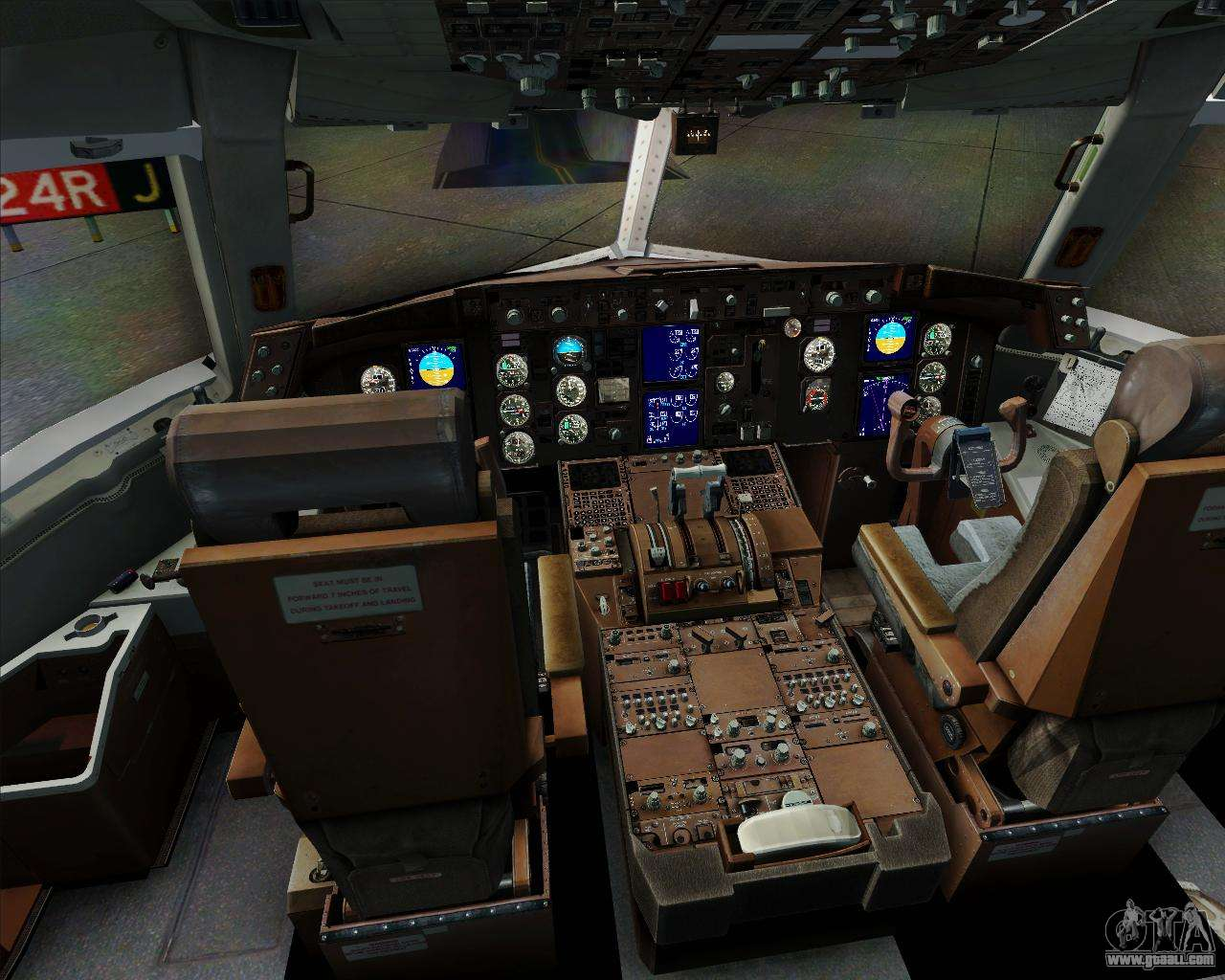 Boeing 767 300er f tam cargo for gta san andreas for Gta sa plane interior mod