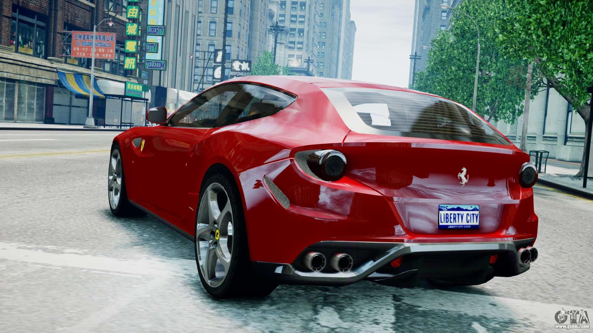 Ferrari Of Washington >> Ferrari FF coupe for GTA 4