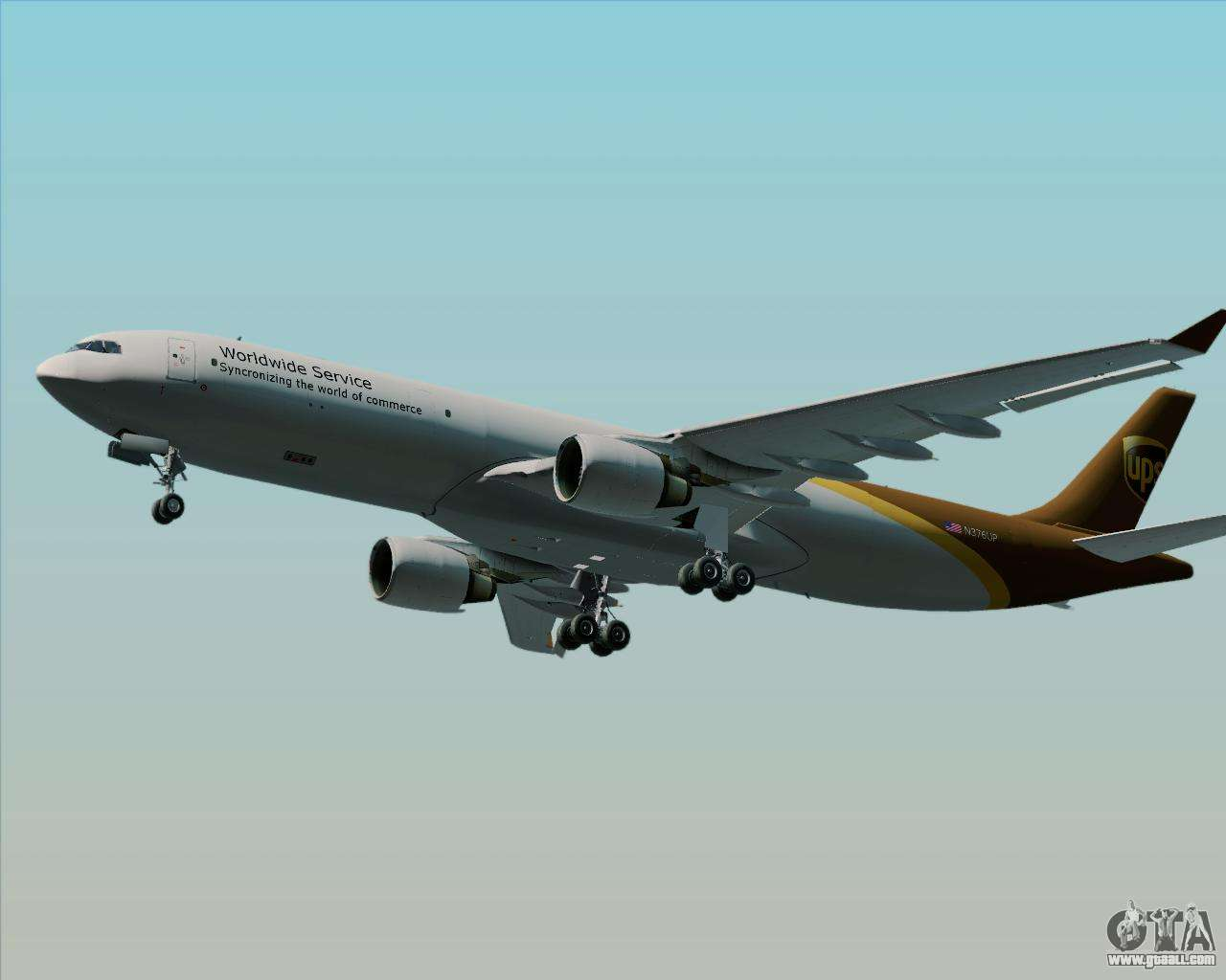 Airbus A330 300p2f Ups Airlines For Gta San Andreas