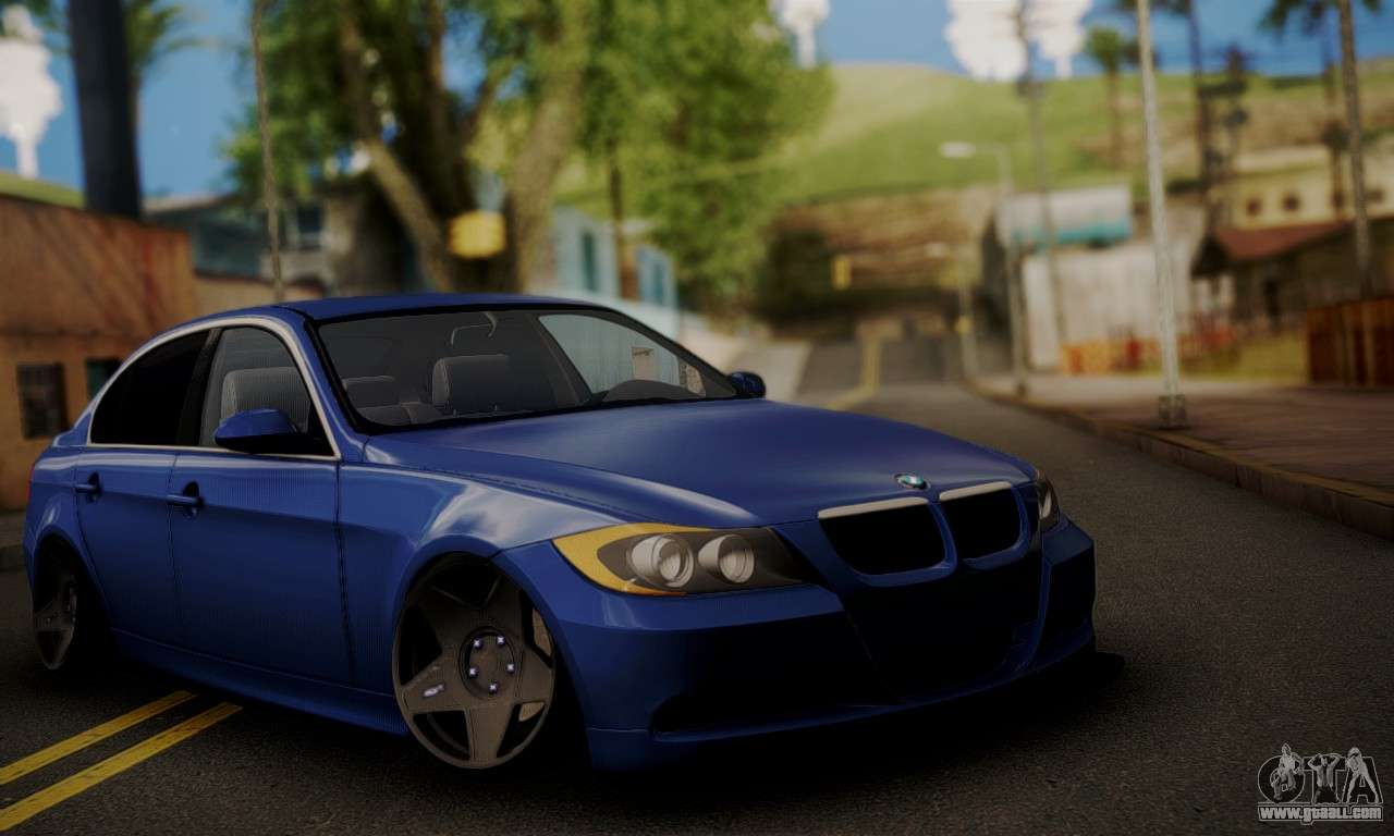 6 Passenger Vehicles >> BMW M3 E90 Stance Works for GTA San Andreas