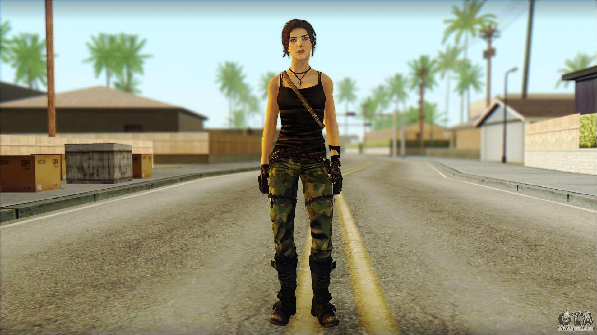 Skin Momiji Gta Sa: Tomb Raider Skin 4 2013 For GTA San Andreas