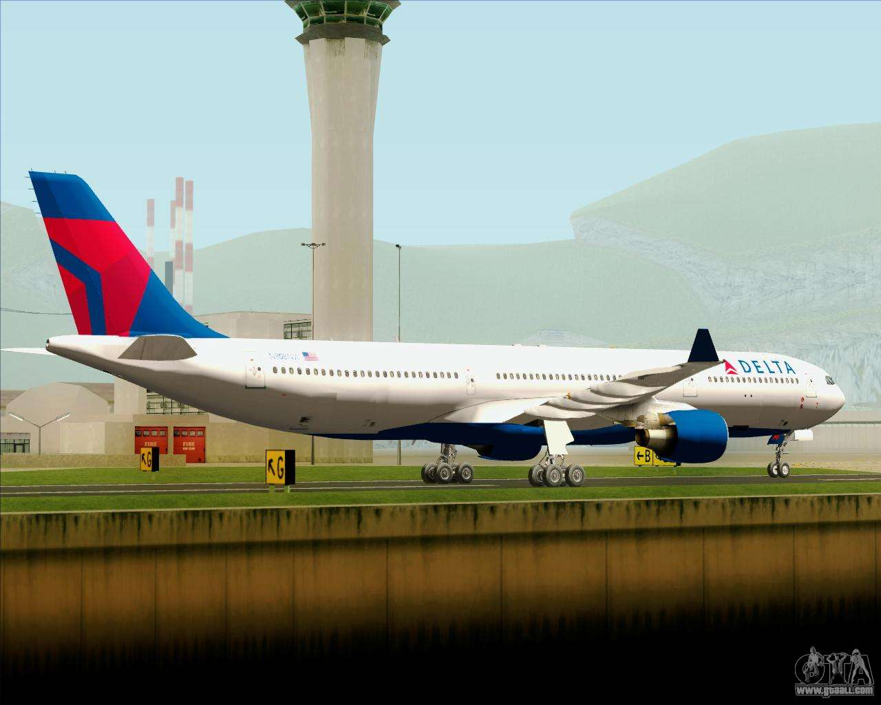 Airbus A330-300 Delta Airlines for GTA San Andreas