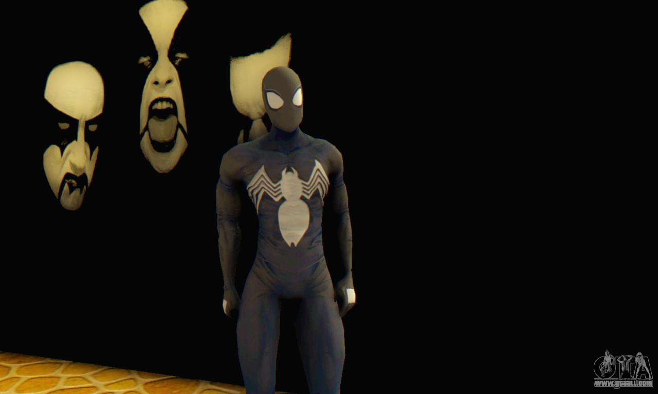 The amazing spider man black suit - photo#20