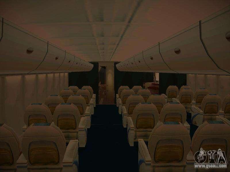 Airbus a380 800 lufthansa for gta san andreas for Gta sa plane interior mod