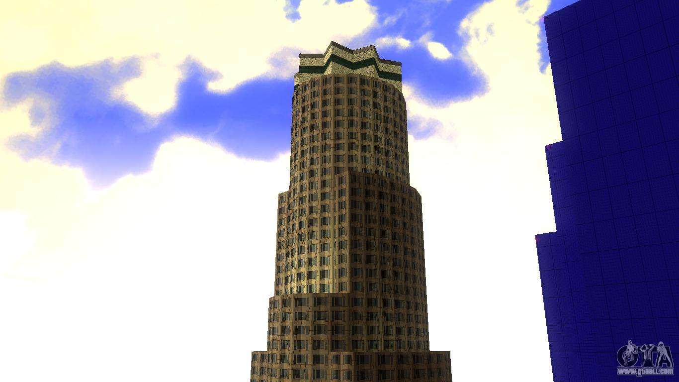 hd texture four skyscrapers in los santos for gta san andreas
