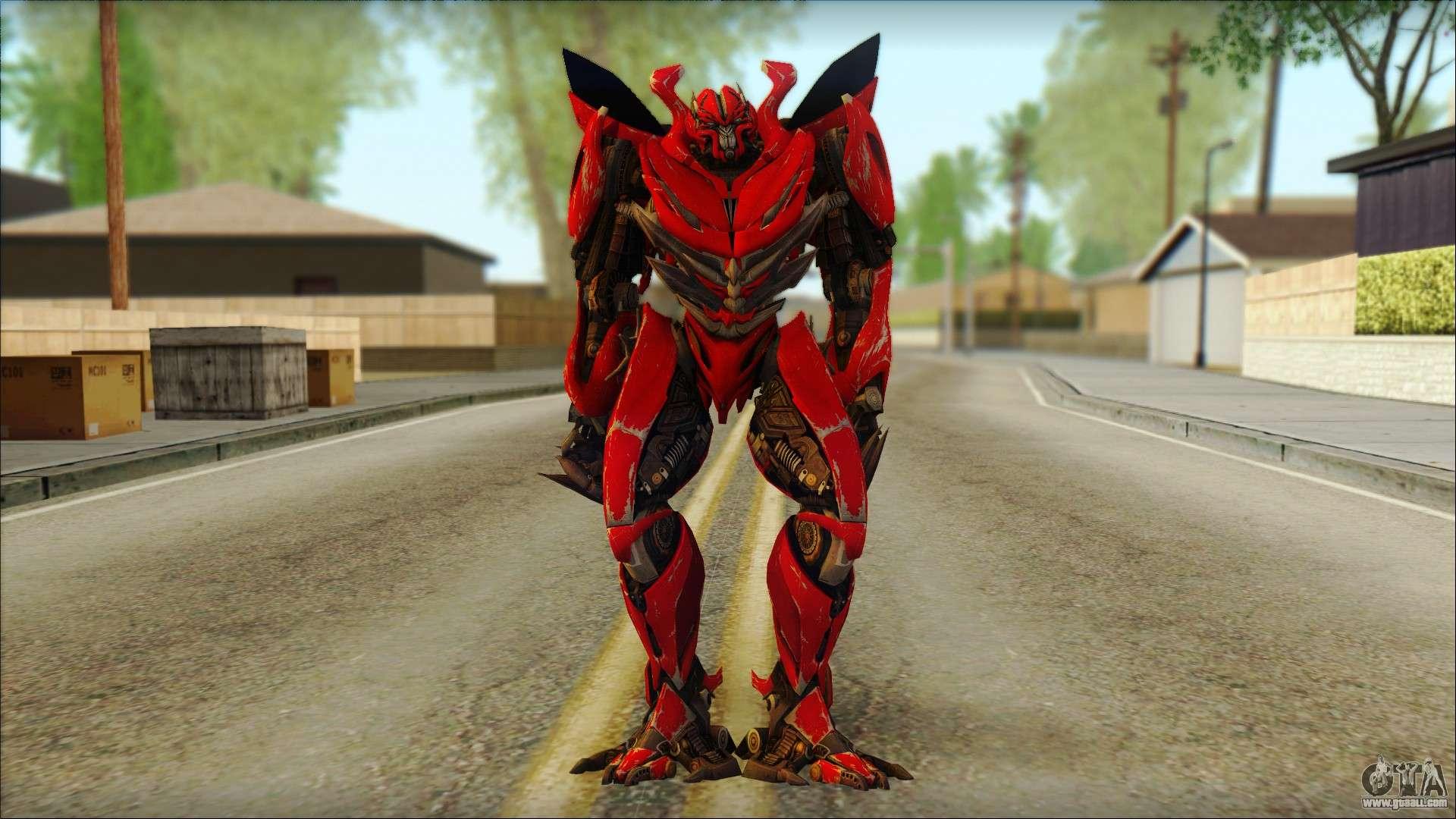 dino mirage transformers dark of the moon v2 for gta san