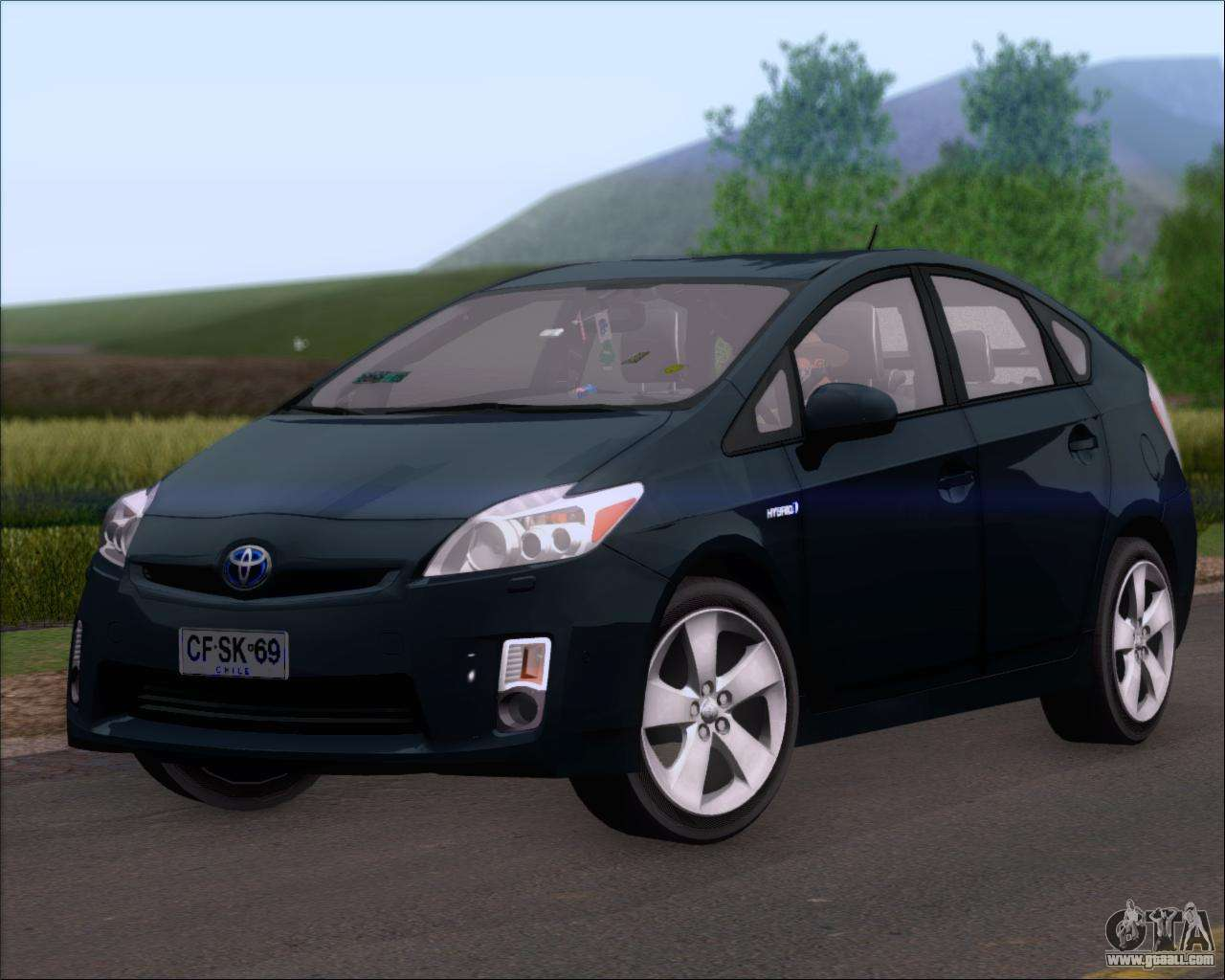 toyota prius for gta san andreas. Black Bedroom Furniture Sets. Home Design Ideas