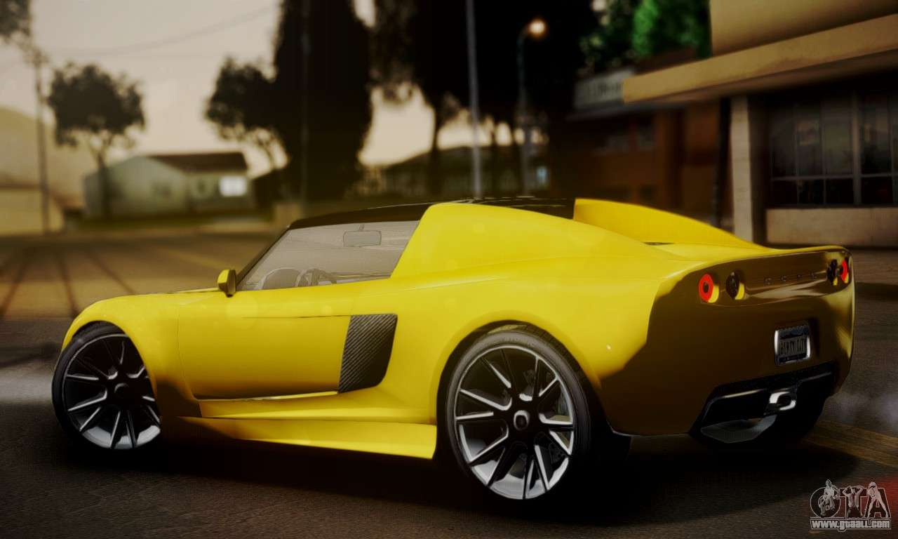 voltic from gta 5 ivf for gta san andreas