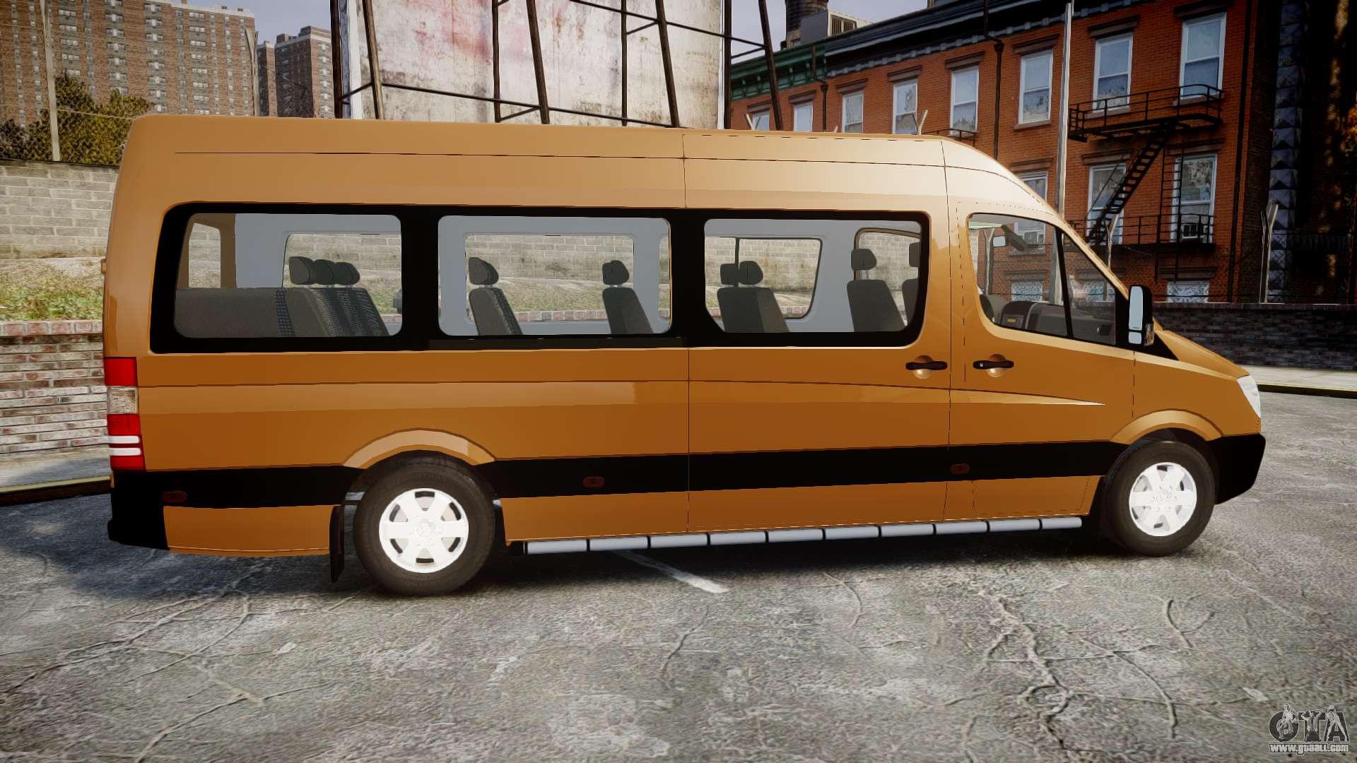 mercedes benz sprinter 313 cdi for gta 4. Black Bedroom Furniture Sets. Home Design Ideas