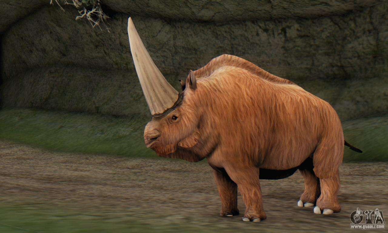Elasmotherium (Extinct Mammal) for GTA San Andreas