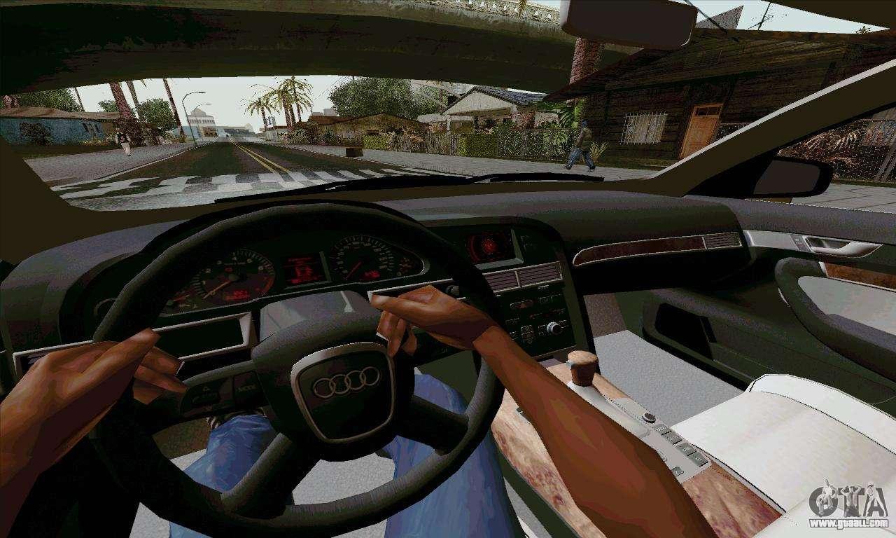 Audi A For GTA San Andreas - Audi car gta 5