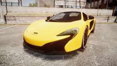 McLaren 650S Spider 2014 [EPM] Michelin v4 for GTA 4
