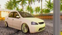 Dacia Logan ZYCU for GTA San Andreas