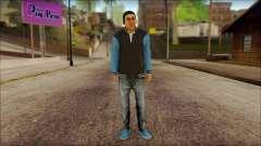 Los Aztecas Gang Skin v2 for GTA San Andreas