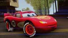 Lightning McQueen Radiator Springs for GTA San Andreas