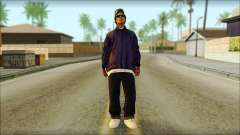 Eazy-E Blue Skin v1 for GTA San Andreas