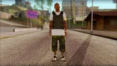 New Grove Street Family Skin v5 for GTA San Andreas