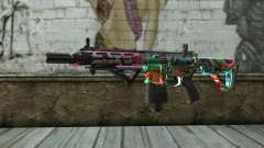 Graffiti Assault rifle v2