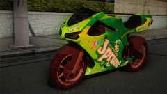 Bati RR 801 Sprunk for GTA San Andreas
