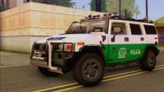Hummer H2 Colombian Police