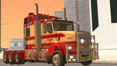 Kenworth T800 Road Train 8X6 for GTA San Andreas