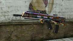 Graffiti Assault rifle