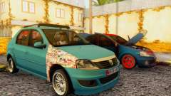 Dacia Logan 1.6 MPI Tuning for GTA San Andreas